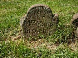 Mary <I>Gillett</I> Brown