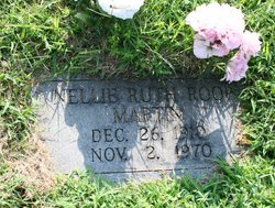 Nellie Ruth <I>Roop</I> Martin
