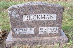 "Beatrice L. ""Beatie"" <I>Morningstar</I> Beckman"