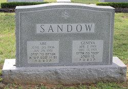 Mrs Geneva <I>Miller</I> Sandow