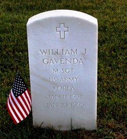 William J Gavenda