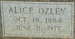 Alice P <I>Ozley</I> Gresham
