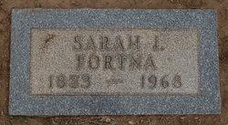 Sarah Isabella <I>Adams</I> Fortna