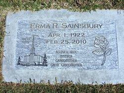 Erma Ruth <I>Prescott</I> Sainsbury