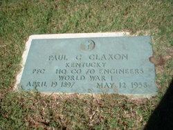 Paul C Claxon
