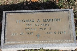 "Thomas Arrington ""Tommy"" Marion"