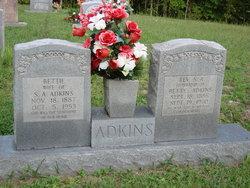 Rev Sanuis A. Adkins