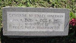 Catherine Agnes <I>McKinley</I> Hinerman