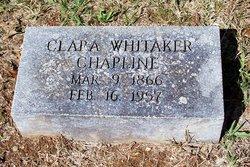 Clara <I>Whitaker</I> Chapline