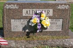 Ruth Jeanette <I>Ault</I> Alderfer