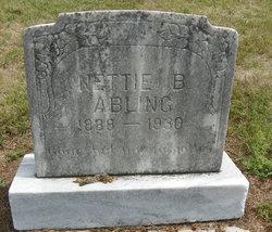 Nettie B <I>Howland</I> Abling