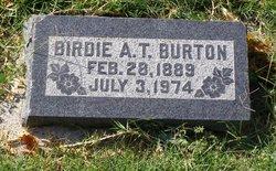Birdie Alameda <I>Taylor</I> Burton