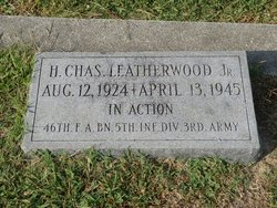 "PFC Hillard Charles ""Charles"" Leatherwood, Jr"