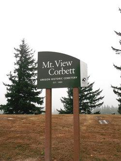 Mountain View Corbett Cemetery