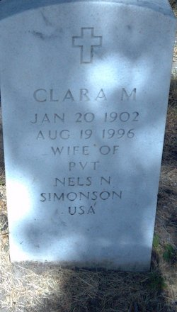 Clara M Simonson
