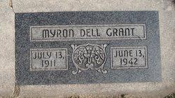 Myron Dell Grant