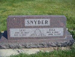 "Elizabeth Abigail ""Ella"" <I>Hamilton</I> Snyder"