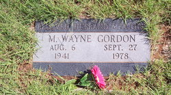 M. Wayne Gordon