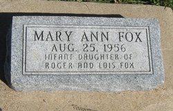 Mary Ann Fox