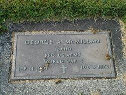George A McMillan
