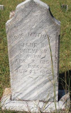 Mrs Rhoda Jane <I>Merrell</I> Brevard