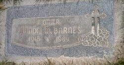Wanda Mary Barnes