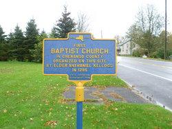Brisben Baptist Church Cemetery