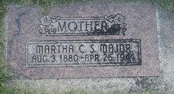 Martha Carr <I>Simmons</I> Major