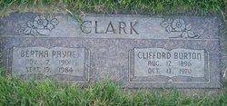 Bertha Juanita <I>Payne</I> Clark
