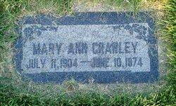 Mary Ann Crawley