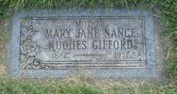 Mary Jane <I>Nance</I> Gifford