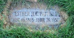 Esther Hannah <I>Clark</I> Pattillo