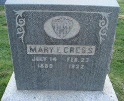 Mary Elizabeth <I>Ross</I> Cress