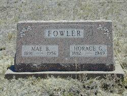 Emma Mae Belle <I>Estes</I> Fowler