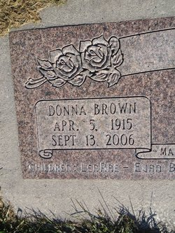 Donna <I>Brown</I> Ames