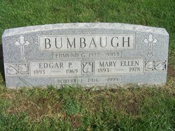 "Mary Ellen ""Nellie"" <I>Franly</I> Bumbaugh"