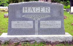 Dennie Eliza <I>Faver</I> Hager