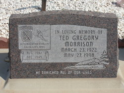 Ted Gregory Morrison