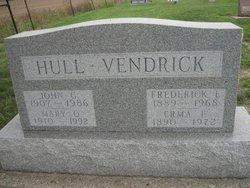 Mary Q. <I>Vendrick</I> Hull