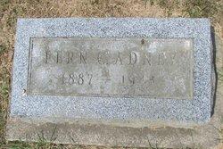 Ethel Fern <I>Coons</I> Adney