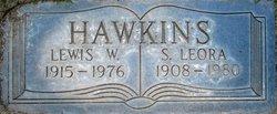"""Sara Leora """"Lee"""" <I>Dresser</I> Hawkins"""