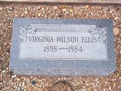 Virginia <I>Wilson</I> Ellis