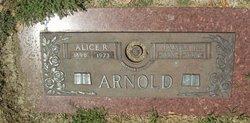 Alice R Arnold