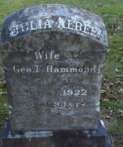 Julia <I>Albee</I> Hammond