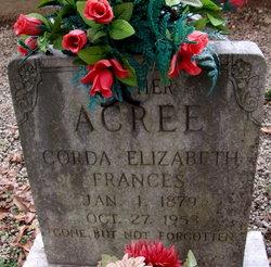 """Corda Elizabeth """"Frances"""" Acree"""