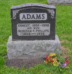 Rebecca F. <I>Phillips</I> Adams