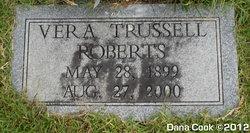 Vera <I>Trussell</I> Roberts