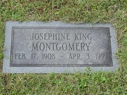 Josephine <I>King</I> Montgomery