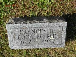 Dr Frances <I>Hacker</I> Bogatko