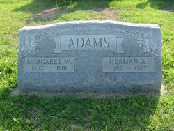 Margaret W Adams